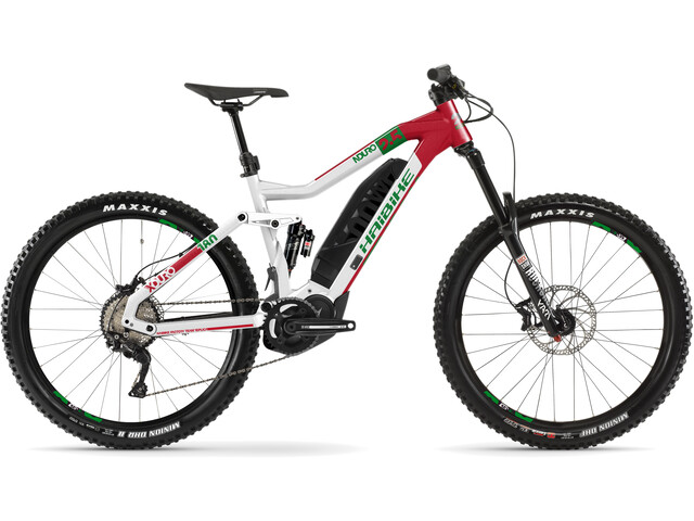 HAIBIKE XDURO Nduro 2.5, white/red/green
